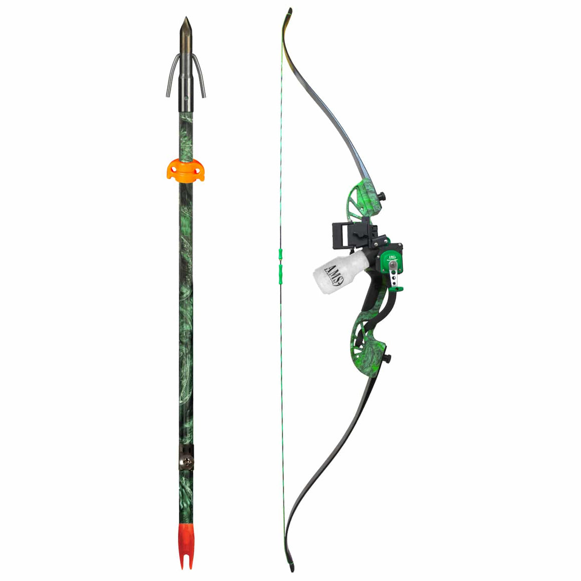 Water Moc Recurve Bow Fishing Kit