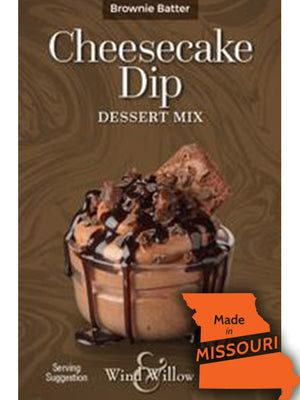 Brownie Batter Cheesecake Dip Mix