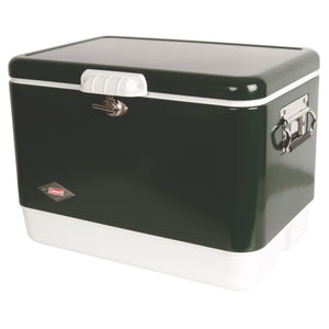 Coleman Steel Belted Cooler 54 Qt - Green