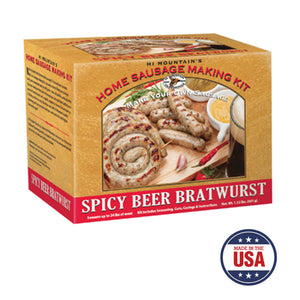 Spicy Beer Bratwurst Making Kit