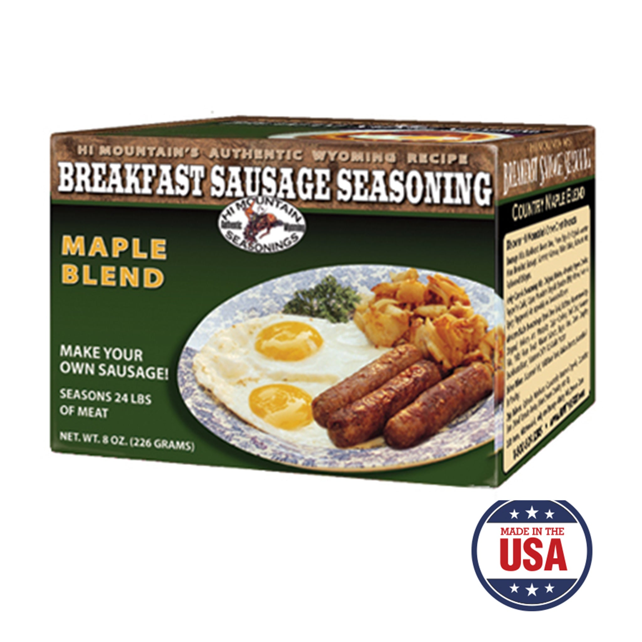 Country Maple Breakfast Sausage Making Kit