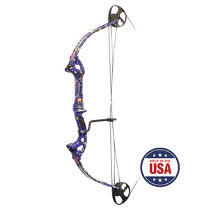 PSE Discovery Compound Bow Kit - Cajun