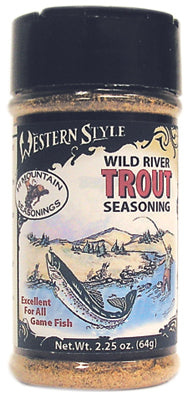 Wild River Trout Western Style Seasoning