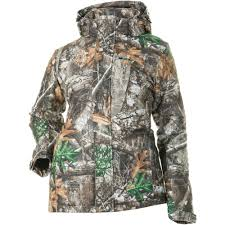 Addie Hunting Jacket- Realtree Edge
