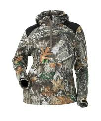 Breanna Fleece Pullover- Realtree Edge