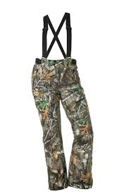 Addie Hunting Bib- Realtree Edge