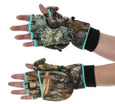 Flip Top Mitten- Realtree Edge