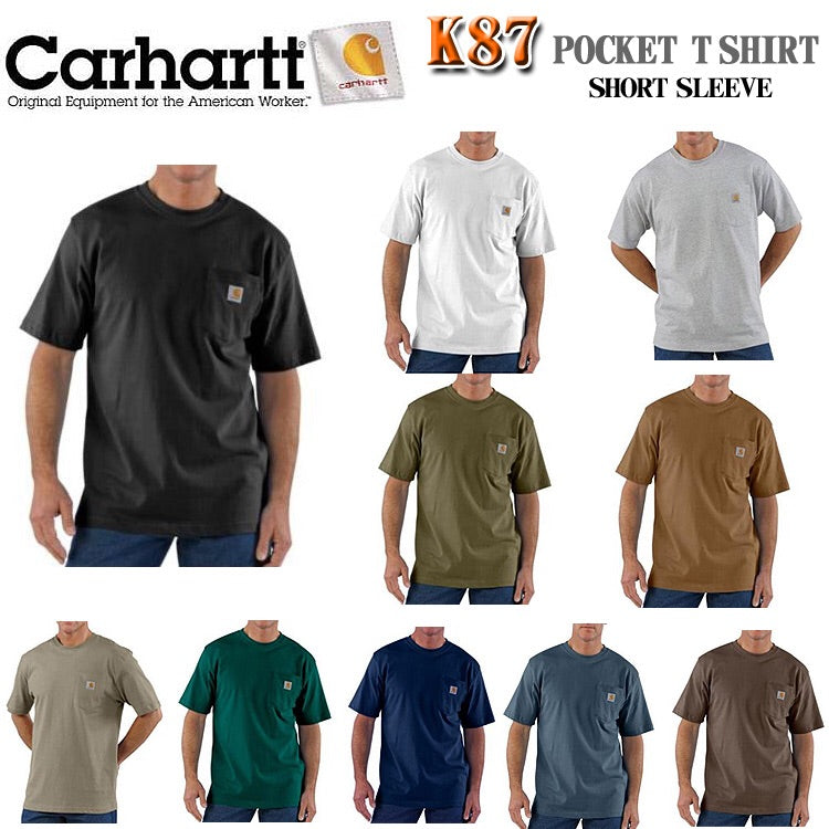 Workwear Pocket SS T Shirt - Tall K87