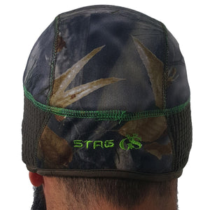 Golden Stag Green Camo Beanie