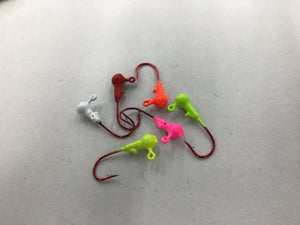 Crappie Jig Heads 1/32 - 10 Pack