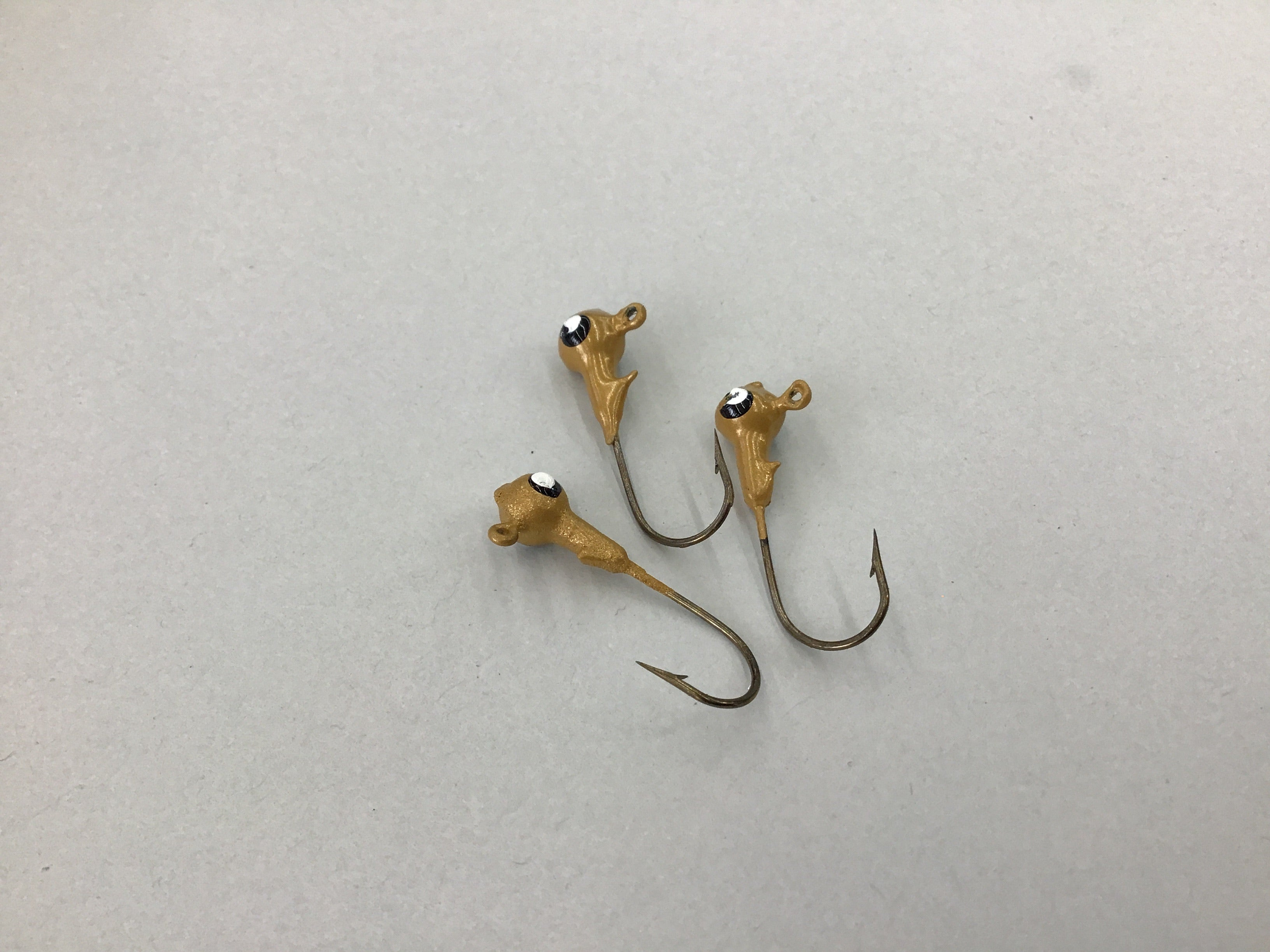 Crappie Jig Heads 1/16 - 10 Pack