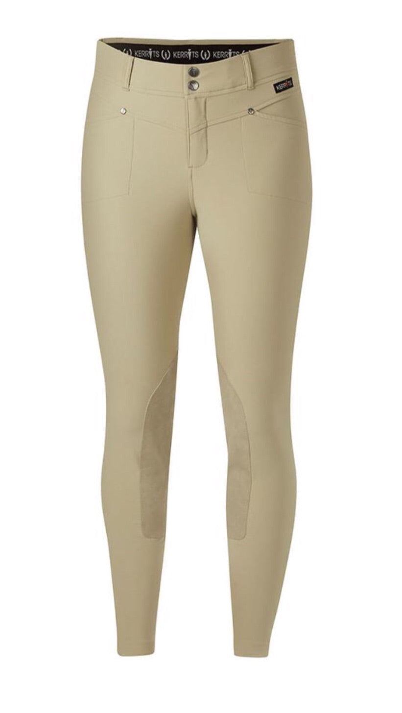 Kerrits cross-over breech kneepatch
