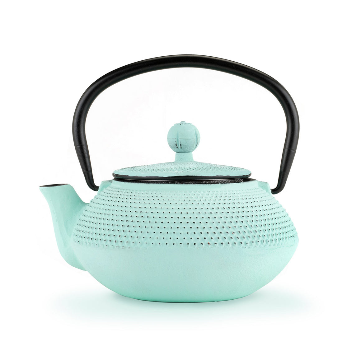 Miko Light Blue Cast Iron Teapot