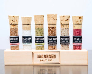 Jacobsen Wooden Stand Set - 6 Infused Vials