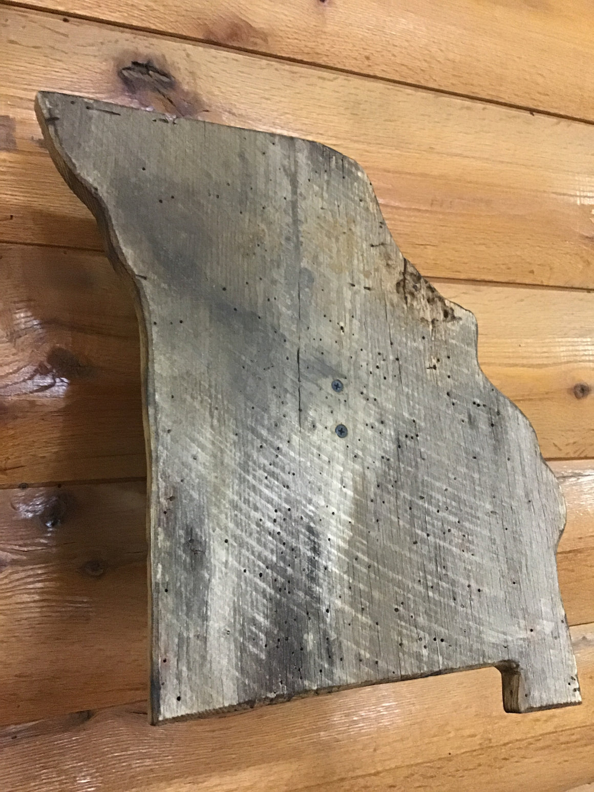 Deluxe Barnwood Missouri Trophy Plaque