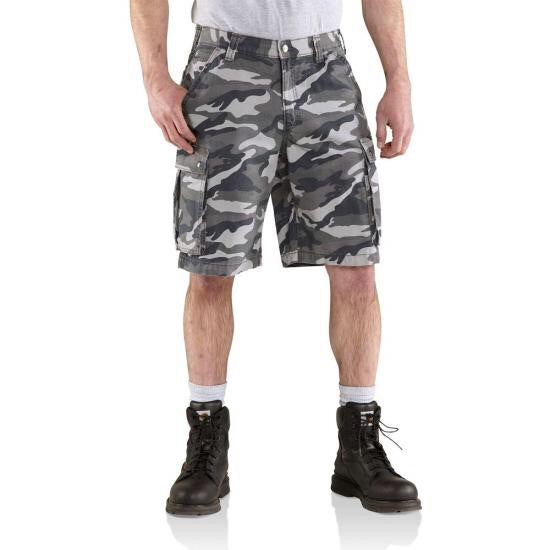 Rugged Cargo Camo Short 100279