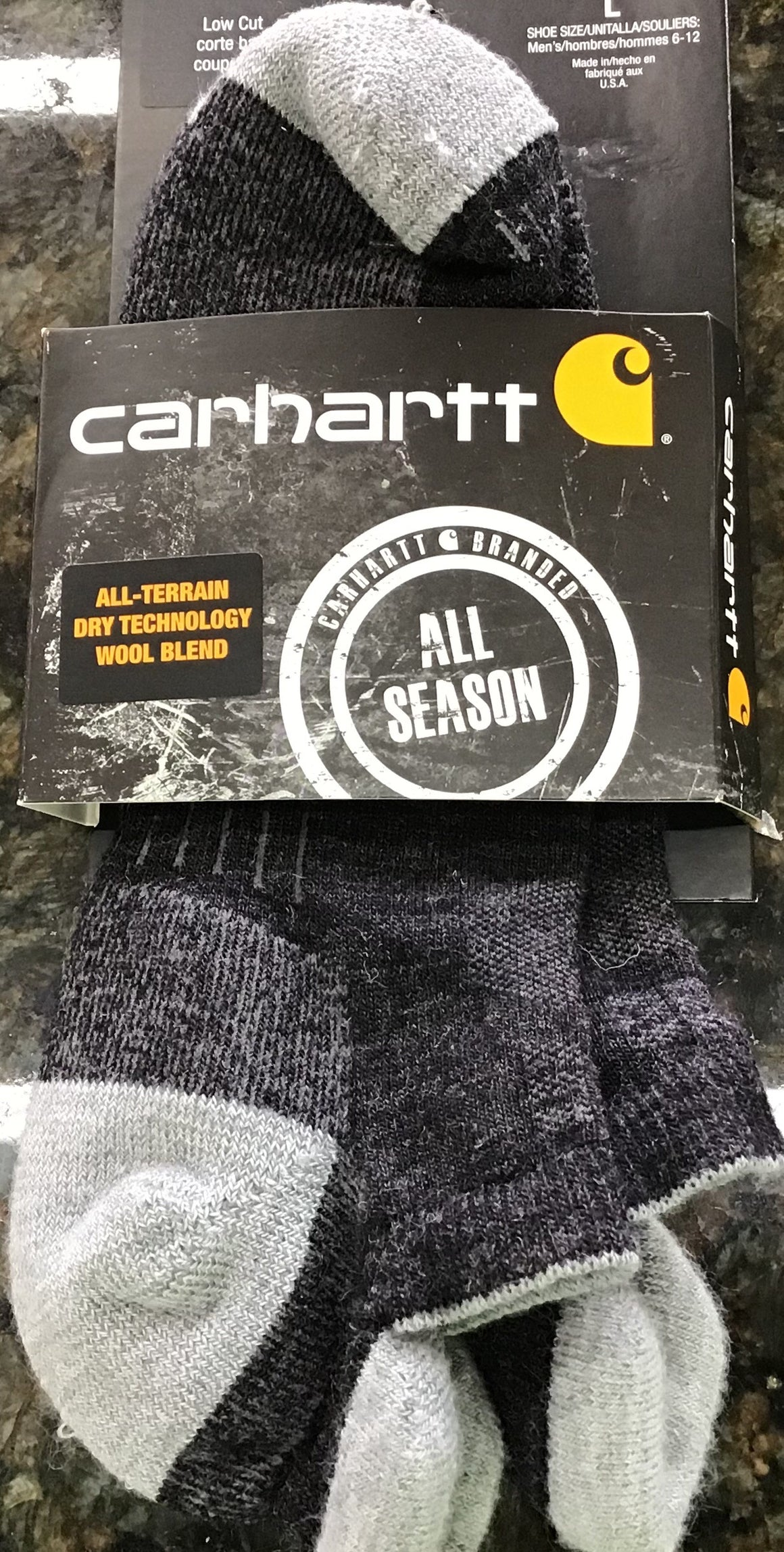 Carhartt All Season All-Terrain Low cut socks - 1 pair
