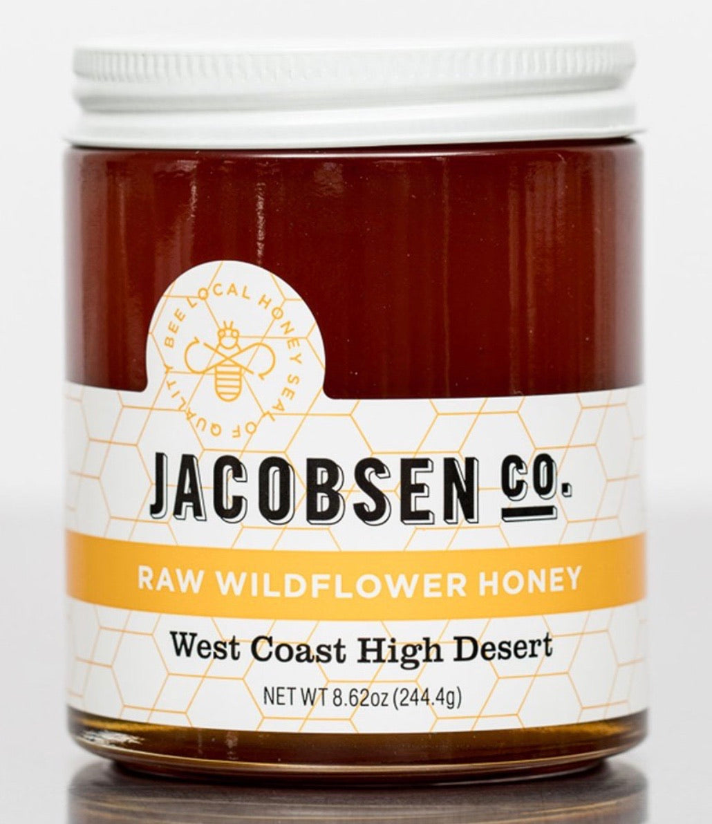 Jacobsen Raw Wildflower Honey