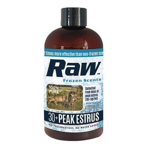 Raw 30+ peak estrus