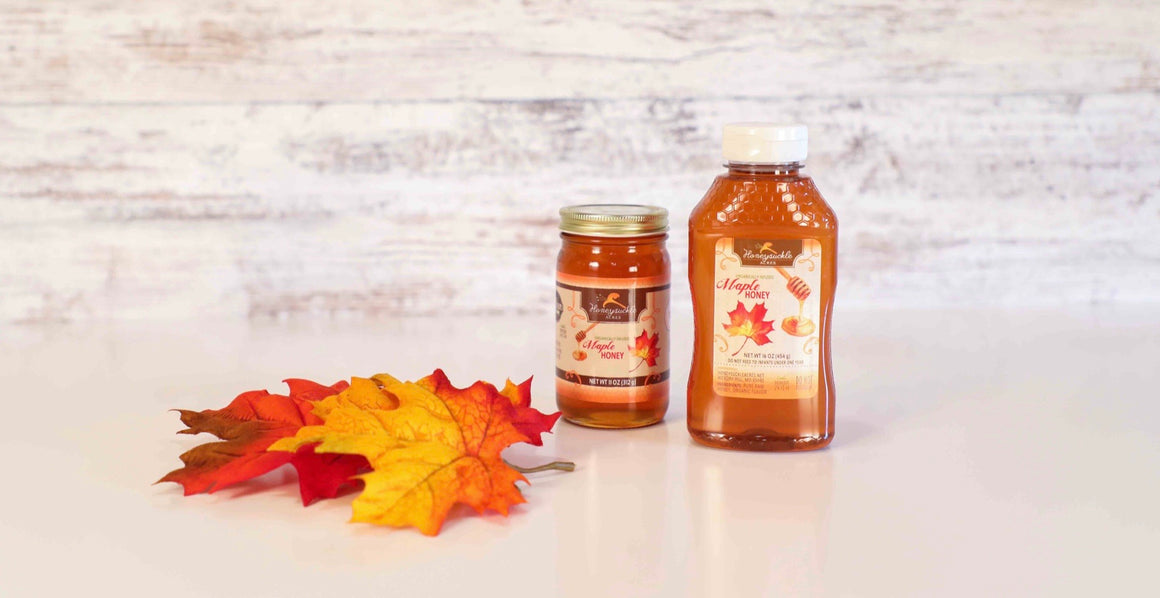Maple Infused Honey