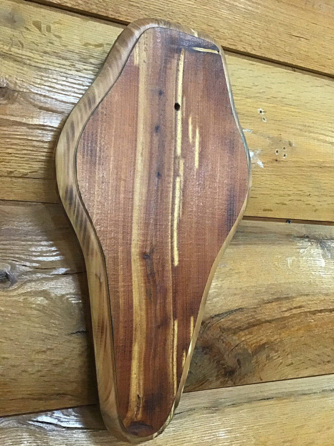 Burnt Cedar Trophy Plaque