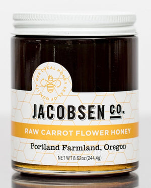 Jacobsen Raw Carrot Flower Honey