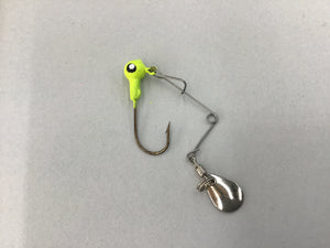 1/16 Jig Heads w/ Spinners - 5 Pack