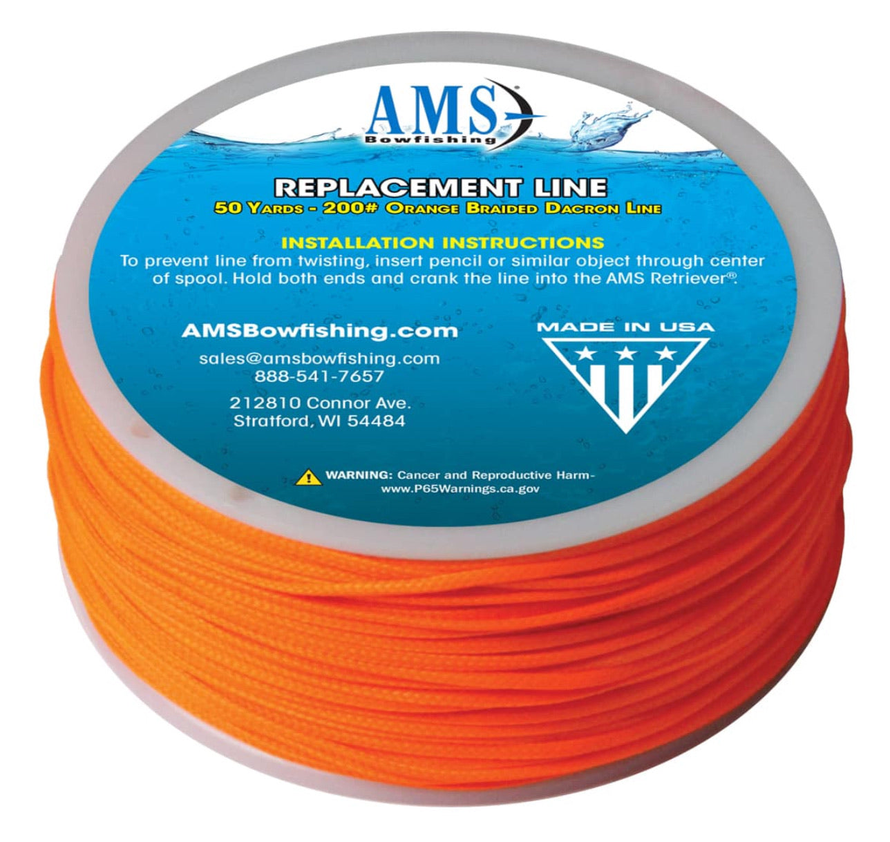 AMS Replacement Line 50yd. 200#