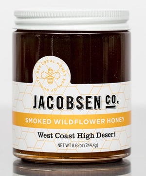 Jacobsen Smoked Wildflower Honey