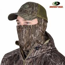 Mossy Oak Stretch-Fit 3/4 Mask