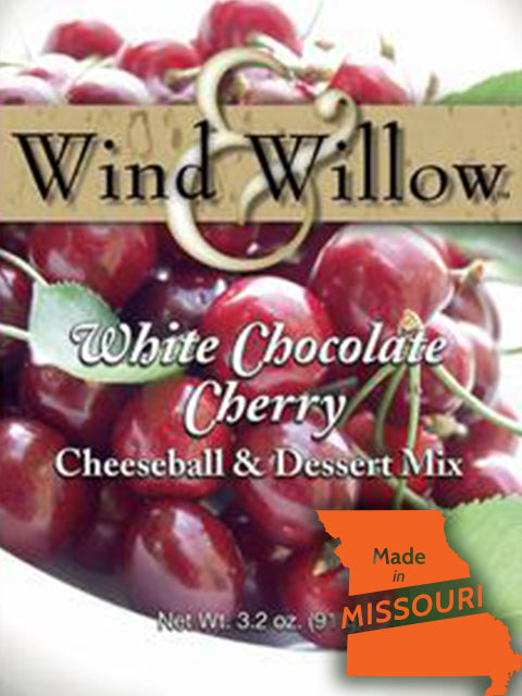 Cherry White Chocolate Cheeseball Mix