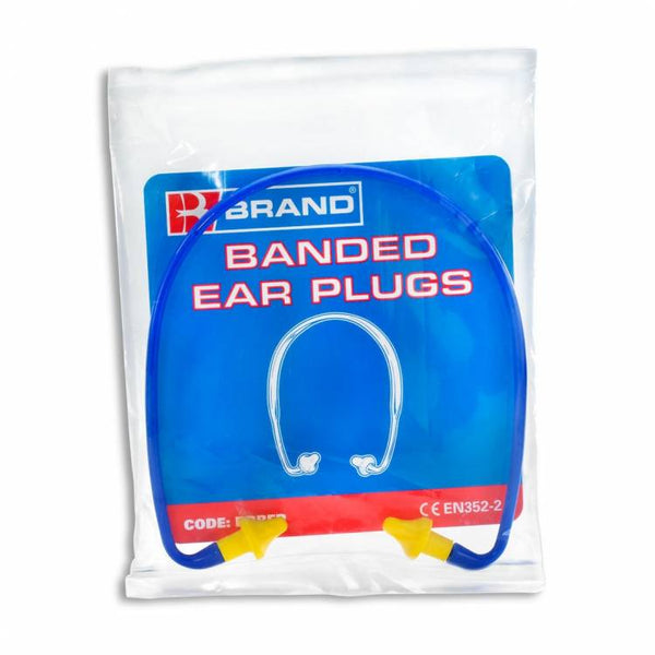 B Brand Banded Ear Plugs box of 40