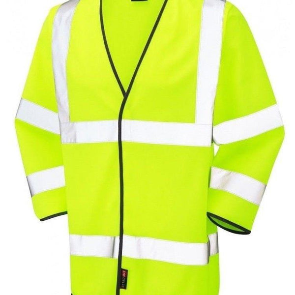B Seen 3/4 length Long Sleeve Hi Viz CLASS 3 Jerkin - Pack of 3