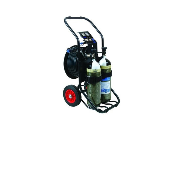 AirPack 1 - Trolley, Reducer & hose reel (50m hose)