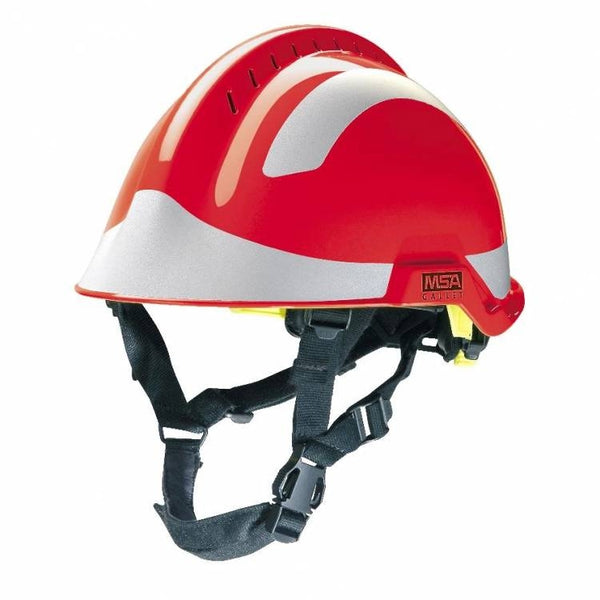 MSA F2 X-TREM Safety helmet C/W Silver Stickers