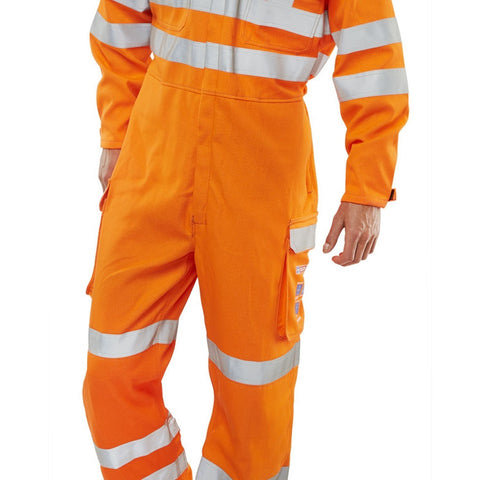 ARC FLASH compliant GORT coverall orange