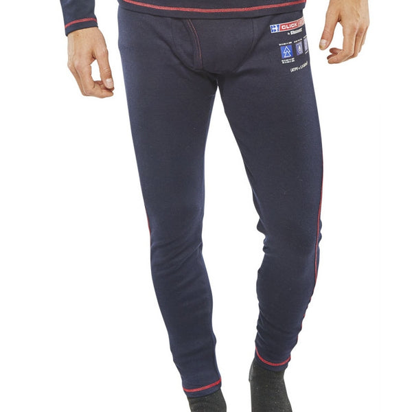 ARC compliant Flame Retardant Navy Long John