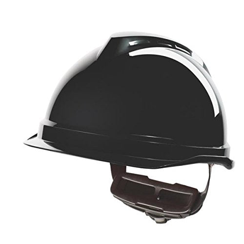 MSA V Gard 520 Short Peak Helmet Fas Trak III Suspension