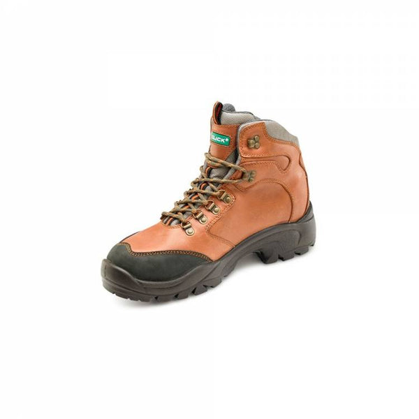 Click PUR S3 High Quality Brown Safety Boot  c/w midsole & toecap