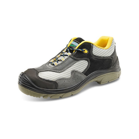Click Traders Non-Metallic Safety Trainer Shoe c/w composit toe cap & mid sole