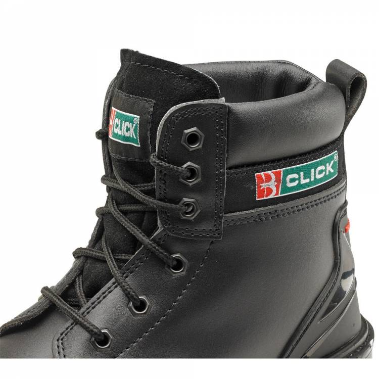 cf955db4abe Click Eyelet Smooth Leather 6 Inch Boot