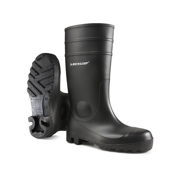 ProMaster Full Safety Wellies Black