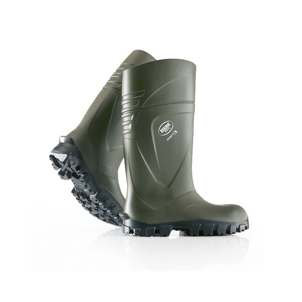 Steplite X Full Safety S5 Wellies Green
