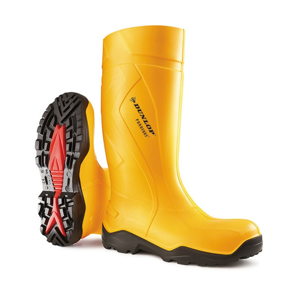 Purofort + Full Safety Wellies Yellow