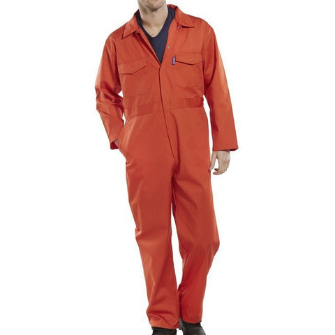 Click Workwear Boilersuit Orange