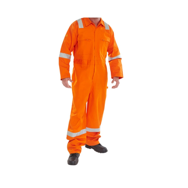 Fire Retardant Anti Static ERSKINE B/SUIT Orange