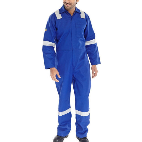 Fire Retardant Anti Static ERSKINE B/SUIT Royal Blue