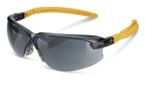 B-Brand Safety Smoke Lens Ergo Temple Anti-Fog and Anti-Scratch Spectacles
