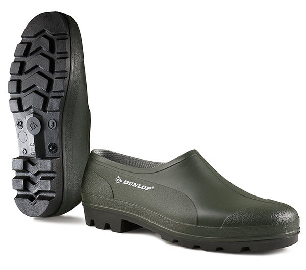 Dunlop Easy-on and Easy-off Wellie Shoe Green