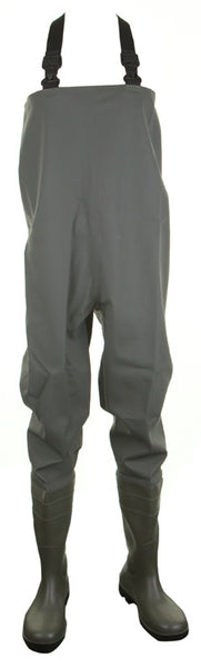 Dunlop Chest Waders Durable Wading Pants Full Safety Green